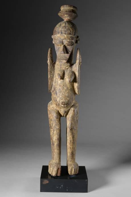 Lobi, female statue