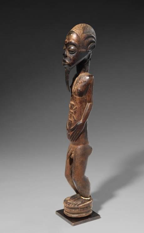 Baoule, Male Statue (Essankro Workshops)