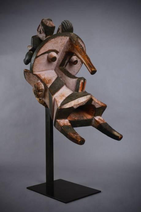 """211_Igbo, """"Elephant"""" Mask1"""