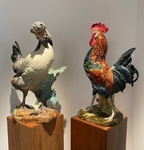 Paul Comoléra, Ensemble coq et poule