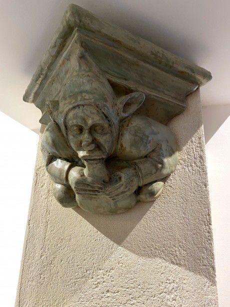 Alfred Renoleau, Paire de modillons au grotesque musiciens