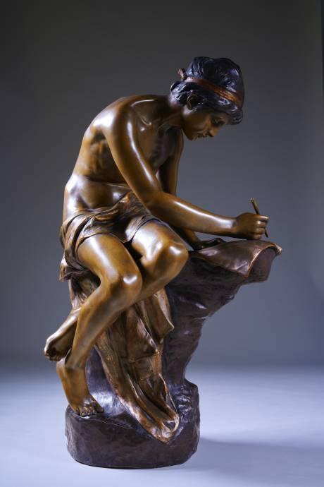 Goldscheider (manuf.), Sujet écrivant