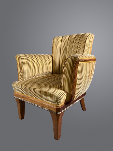 Paul Follot, Pair of armchairs.