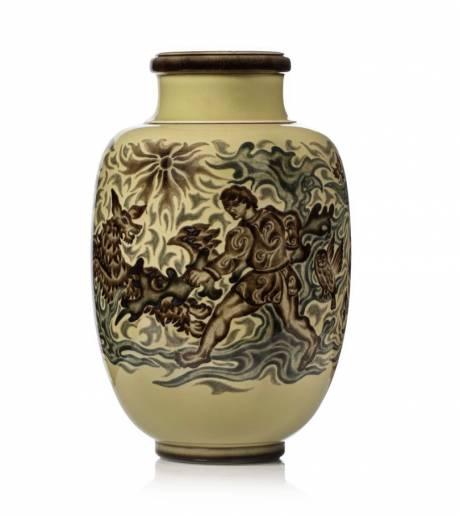 """Manufacture de Sèvres, Vase modèle """"Decœur n°14""""."""