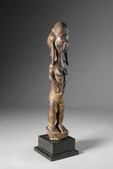 Baoule, Female statue