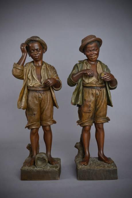Goldsheider (manuf.), jeunes noirs