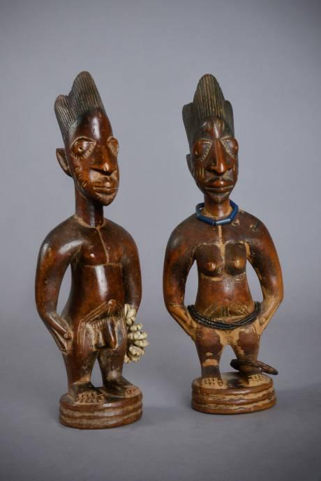 Yoruba, Pair of Ibedji