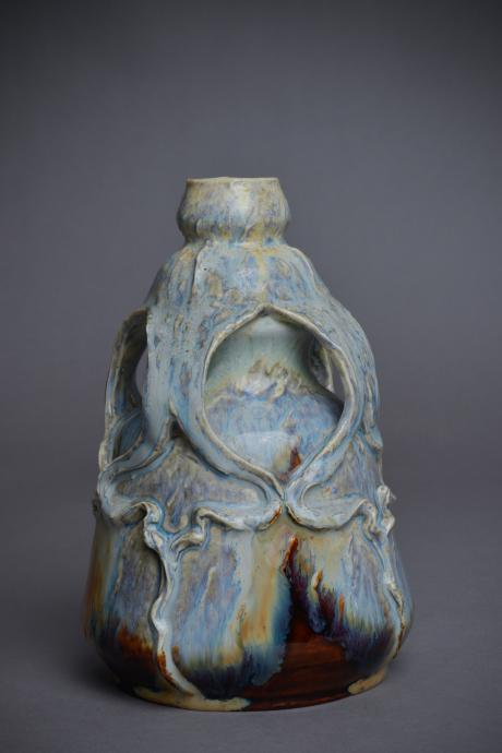 Galerie Origines - Arles - Manufacture Tepliz -Vase coloquinte