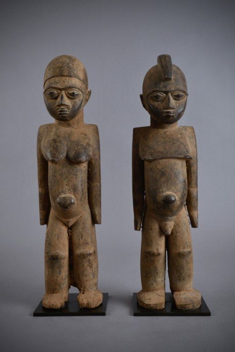 Lobi, Statue d'un couple